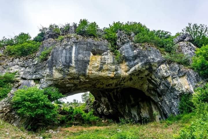 Podul lui Dumnezeu, Ponoarele, Mehedinti